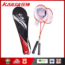 ZJ-1002 Wholesale Cheap Red Color School Training Using Badminton Racket