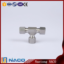 Alibaba Co Uk Stainless Steel 304 Single Ferrule Fitting Equal Union Tee