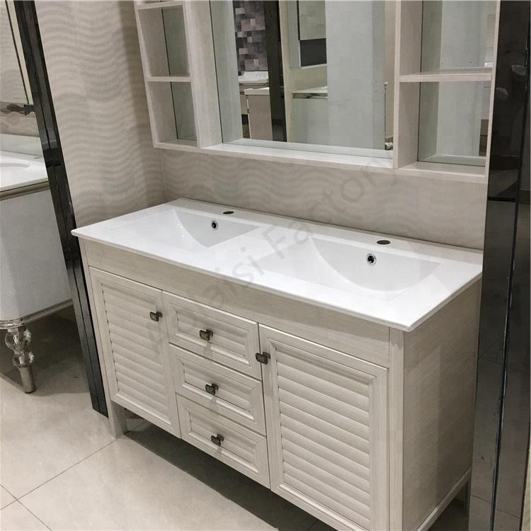 1200 Modern White Hotel Bath Vanity