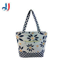 China Manufacture 100% Recycled Cotton Bag Natural Organic Cotton Tote Shopping Bag for wholesale