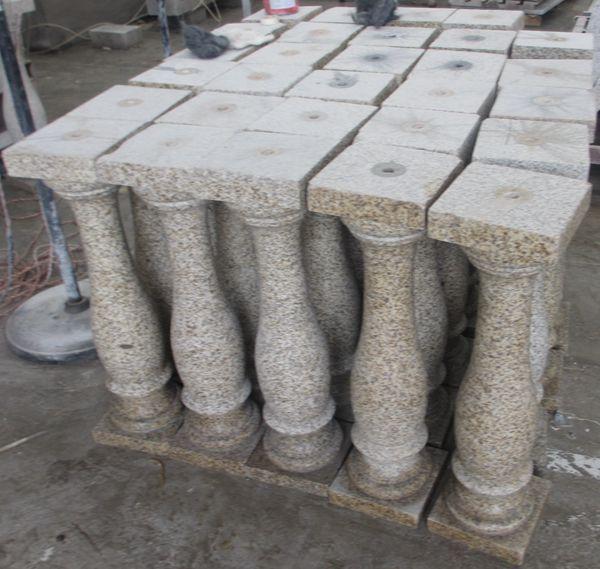G682 granito molde de balaustres de piedra barandilla barandillas y pasamanos identificaci n del - Balaustres de piedra ...