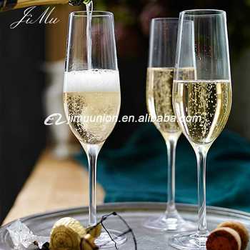 wholesale lead free crystal flute champagne glass drinking wine glasses