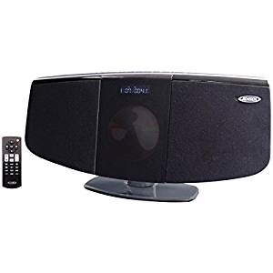 JENSEN JBS-350 Bluetooth Wall-Mountable Music System with CD Player
