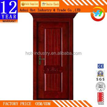 Apartment High Quality Pvc Wooden Door Hotel Moisture Proof
