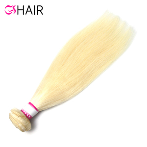 100% brazilian cuticle aligned raw virgin 613 bulk hair blonde human extension