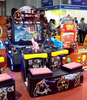 House Of Dead Arcade Gun Shooting Games Simulator Game Machine For Sale