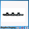 Carbon steel Double pitch conveyor chain transmission chain with attachment Hangzhou