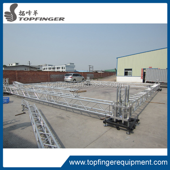 Aluminum Roof Truss For Mini Event Truss Stage Manufacturers