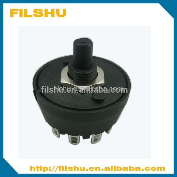 Top quality home appliance rotary changeover switch