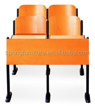 Foshan Spring hot sale school library table and chairs/ school furniture for children's education CT-206