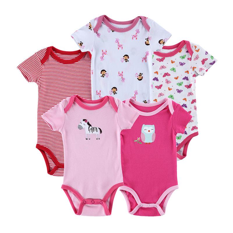 9b1a7bd3e8b6 Buy 0-9M Cotton Bebe Baby Boy Girl Bodysuits 5Pcs Lot Newborn Body Baby  Next Bodysuit Body Carters Recem Nascido Bebek Giyim P67 in Cheap Price on  ...