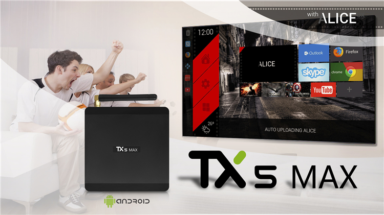 Most popular TX5 MAX quad-core 4GB DDR4 smart android tv box 3gb android tv box  t95x  s905x2 4g 32g amlogic