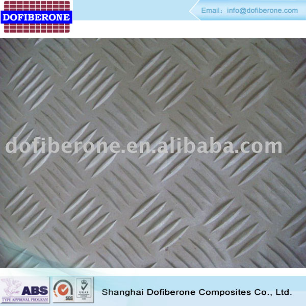 15 to 63mm thick Fiberglass cover grating