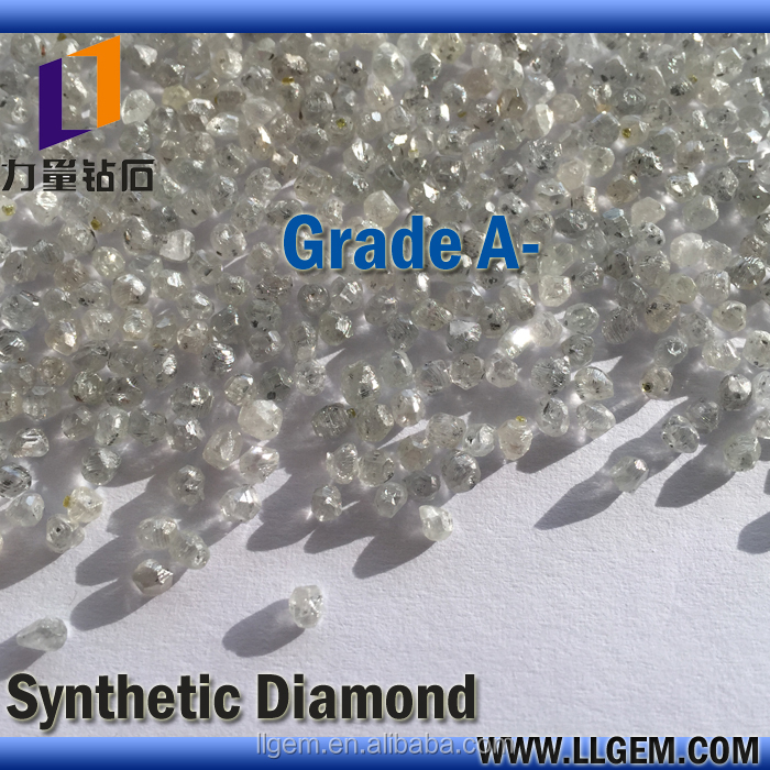Wholesale HPHT Large Crystal Rough White Diamond / CVD Diamond