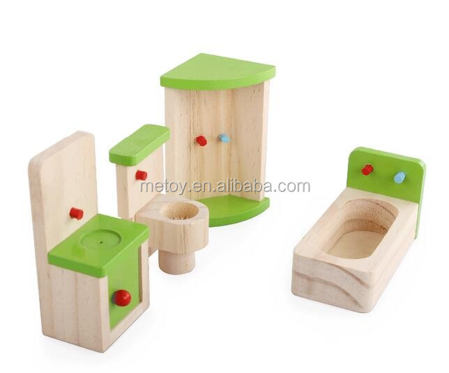 4 Piece Wooden Kids Furniture Toy Dollhouse Miniatures Furniture Wholesale Buy Kids Furniture