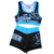 Sublimation cheer uniforms crop top and skirt cheerleading sports bra