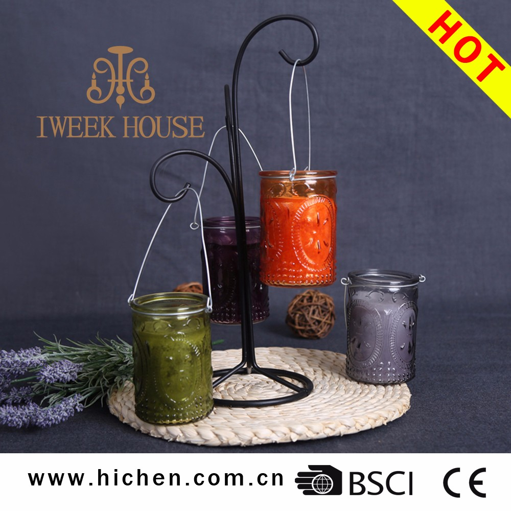 The most exquisite design 100% natural scented soy wax candles for home decoration