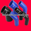 Silicone Shower Rubber HOSE (BLUE)