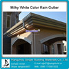 Big Discount Factory 5'' K-style Vinyl Gutter Collecting Roofing Rain Water