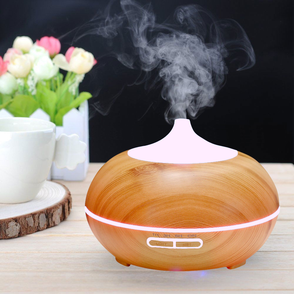 Spa Perfume ionizing aroma diffuser air humidifier With 7 LED changing light