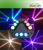 DMX LED spider beam moving head lights for dj club party 9*12W RGBW brand leds 5 beam degree