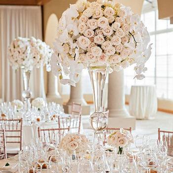 Hochzeits Mittel Und Blume Stehen Vase Fur Tische Decor Blumen Buy