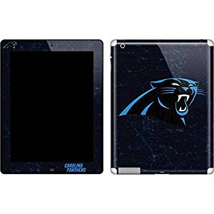 NFL Carolina Panthers iPad 2 Skin - Carolina Panthers Distressed Vinyl Decal Skin For Your iPad 2