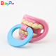Promotional 6 Designs Red and Pink Funny Baby Teeth Nipple