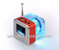NiZHi TT-029 New mp3/mp4 ipod fm Music Cube Mini Speaker