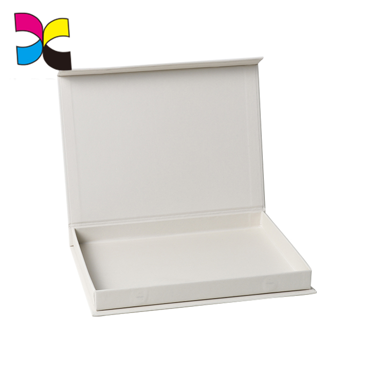 Guangdong printing factory cardboard foldable scarf storage box for sale
