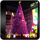 Factory direct price LED yellow artificial christmas tree
