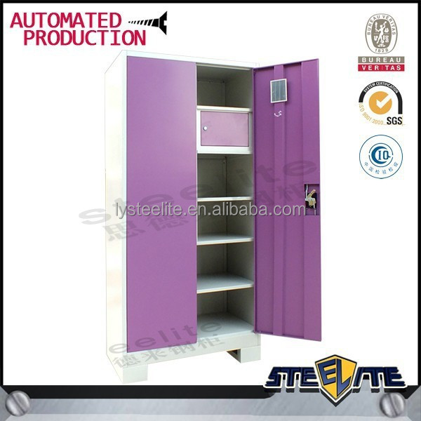 Indian Bedroom Wardrobe Designs Stainless Steel Cupboard For Clothes Cloth