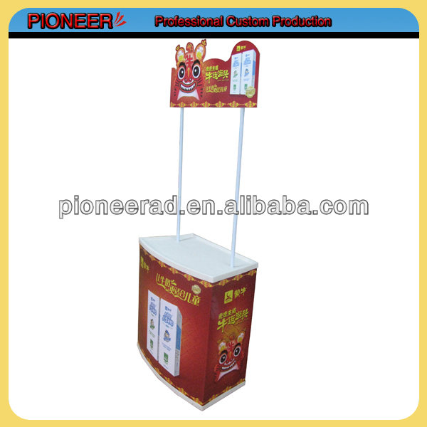 custom pvc promotion counter