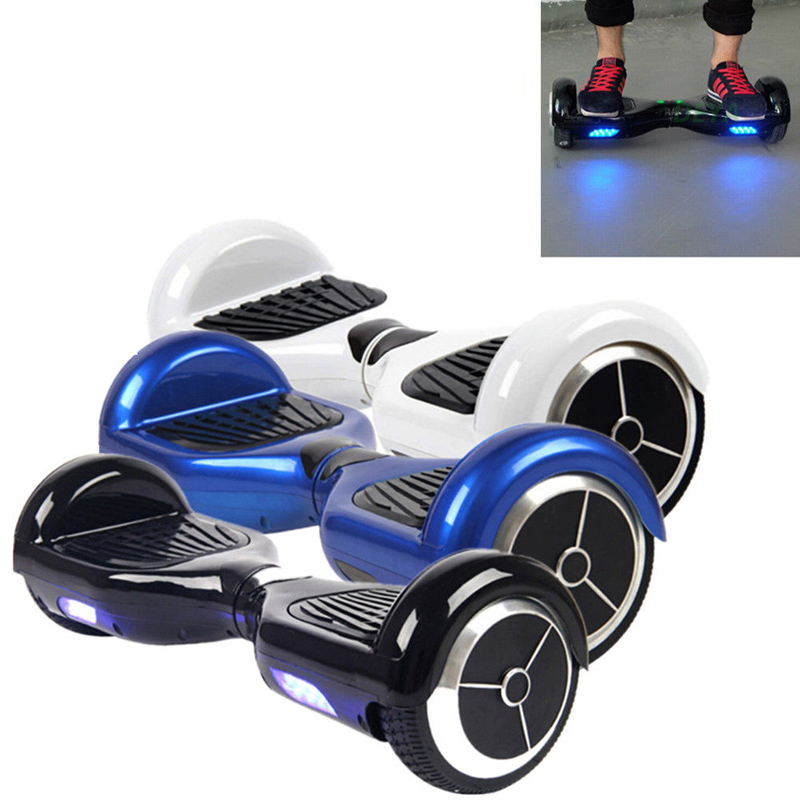 CYLAPEX 2 Wheel Smart Balance Electric Scooter Hoverboard Skateboard Motorized Adult Roller Hover Standing Drift Board