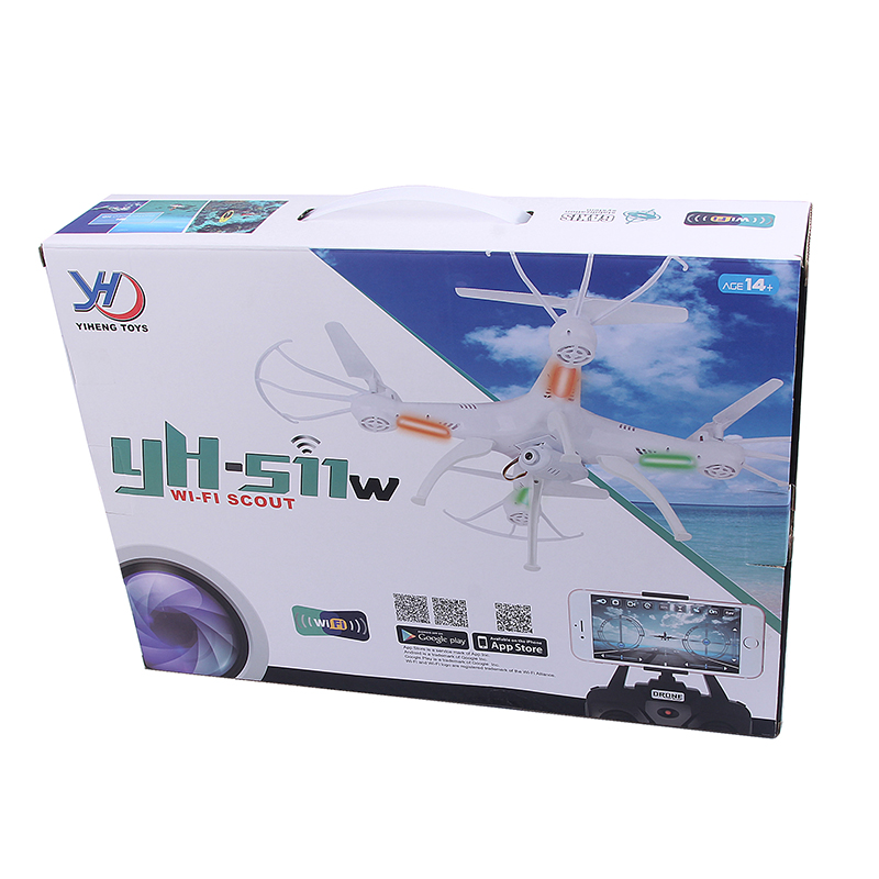 Yh-511 Mini Drone Quadcopter 2.4g 6 Axis Gyro 4ch Rc Helicopter ...