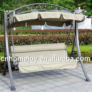 Good Quality Garden Wrought Iron Swing Chair, Outdoor Patio Hanging Swing  Chair