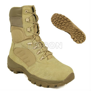 Tactical Boots with high strength cow suede/soft and comfortable