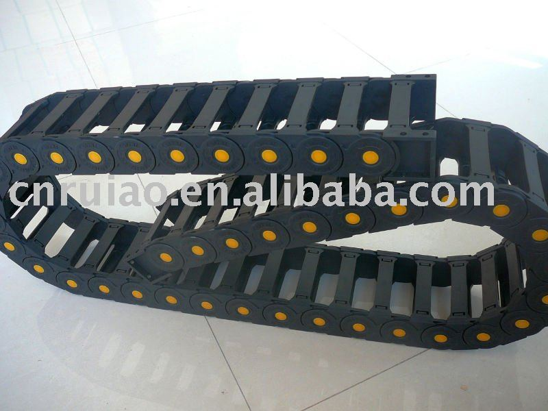 Nylon P66 load bearing and over length drag chain sold in meter