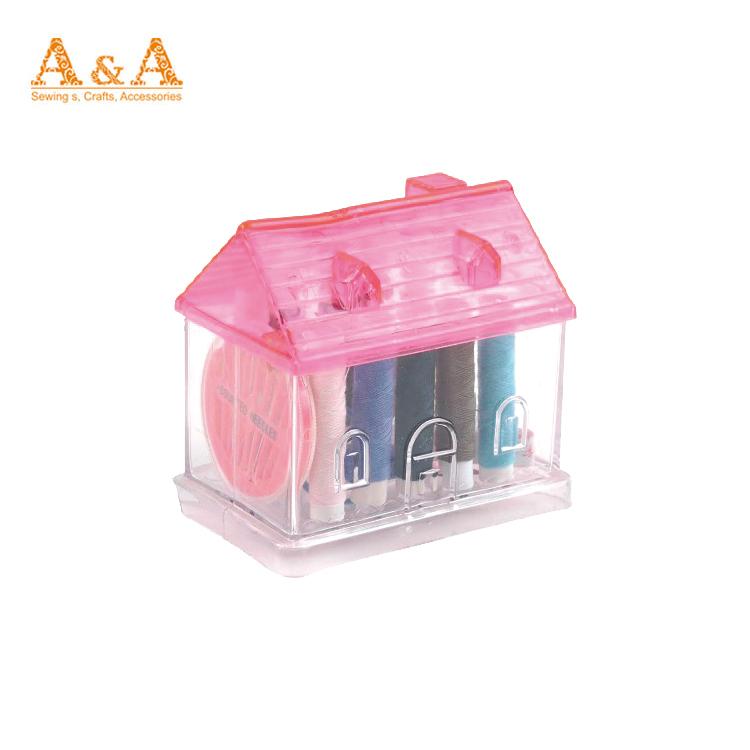 Panas Menjual dengan Harga Murah Mini Plastik Perjalanan Jahit Kit dengan Cermin