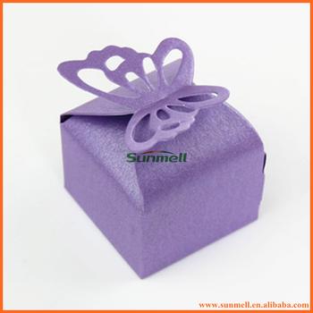 Purple Erfly Wedding Cake Bo With Custom Design
