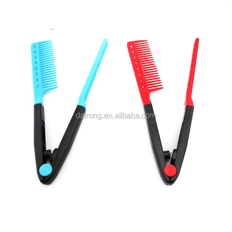 DR019 Chinese plastic folding cleaner hair brush