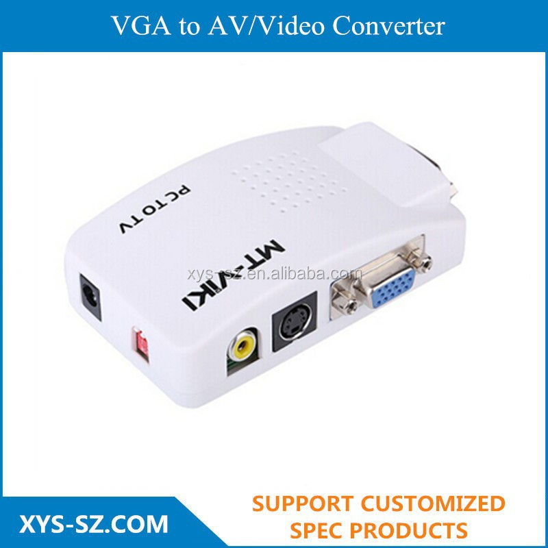 VGA to AV/Video Converter,Video Input: AV, SVIDEO, VGA three inputs,