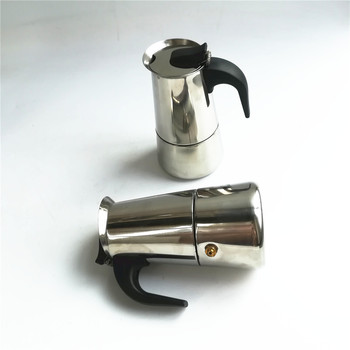 Sample Free Stainless Steel 9 cup Classic Stove Top Espresso Italian Coffee Maker