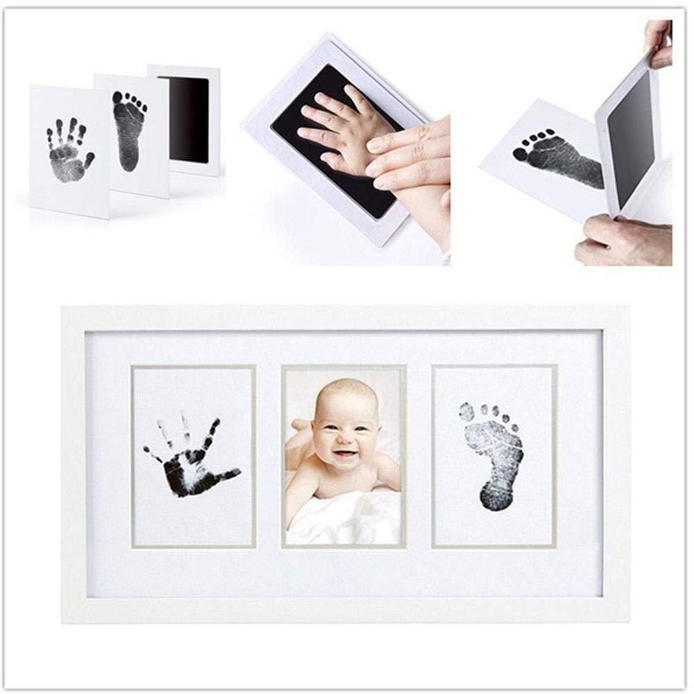 DeemoShop Baby Care Non-Toxic Baby Handprint Footprint Imprint Kit Casting Parent-Child Hand Inkpad Fingerprint Footprint
