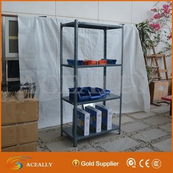 Custom Made High Quality Slotted Angle Iron Shelf Rack