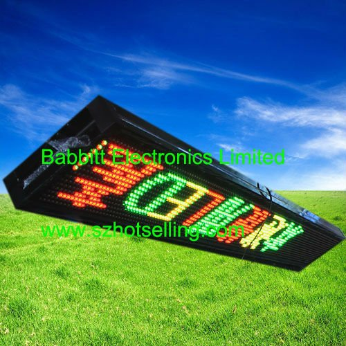 led display bulletin boards / Outdoor GRY LED Display, Unit size 256(L)*25.6(H)*20(D)CM