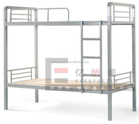 Prison Dormitory Metal Furniture Heavy Duty Twin Bunk Bed