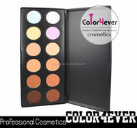 Colorful cheap customized multicolor concealer new pro 15 make up palette