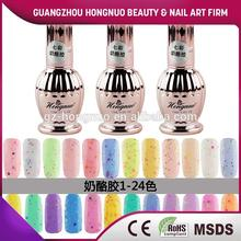 Uv/led gel nail polish cheese effect soak off 15ML HN1974