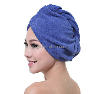 Top Grade Quality Magic Drying Microfiber Twist Hair Turban/Dry Hair Towels With Low Price